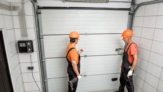 sectionale garagepoorten installateur